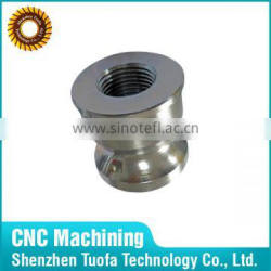 Titanium Threaded Flange Bushing with Custom Services