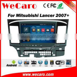 Wecaro WC-ML1011 10.2 inch android 4.4/5.1 touch screen car dvd gps for mitsubishi lancer ex 2007 - 2014 With Wifi 3G Radio RDS