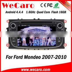Wecaro WC-FU7608 Android 4.4.4 car dvd player touch screen for ford mondeo navigation 2007 - 2010 mirror link